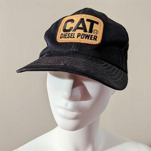 CAT Diesel Power Snap-back Trucker Hat